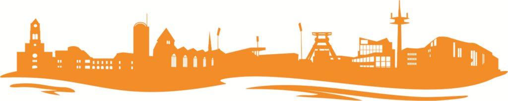 Kolping BW Essen Skyline orange